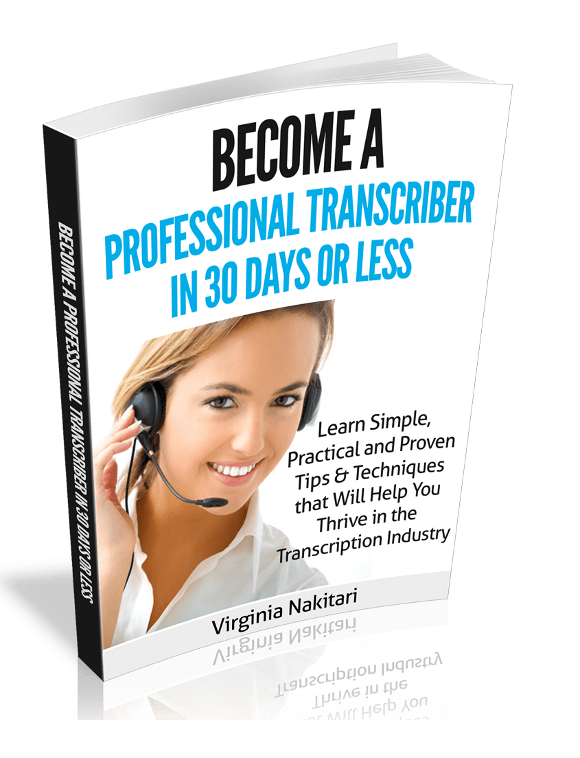 how to become a transcriptionist