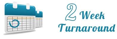 2-week turnaround-time