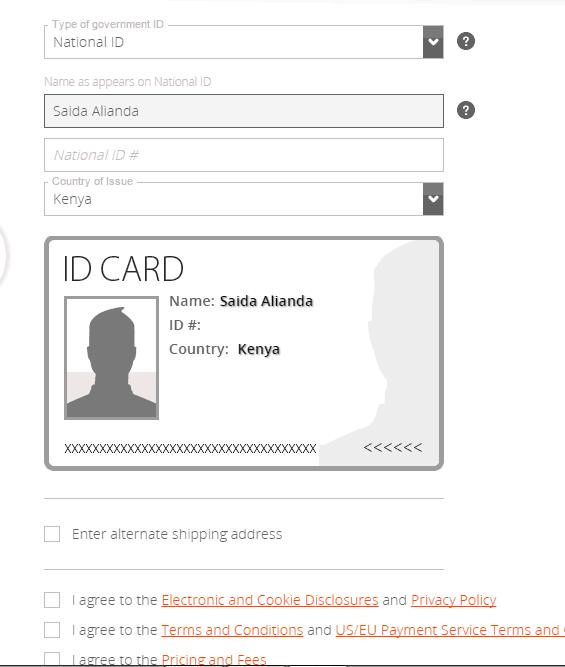 verify payoneer account