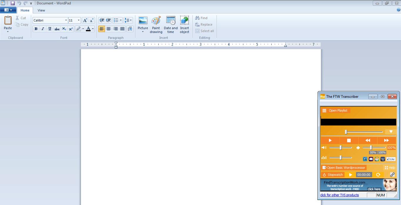 default ftw word processo