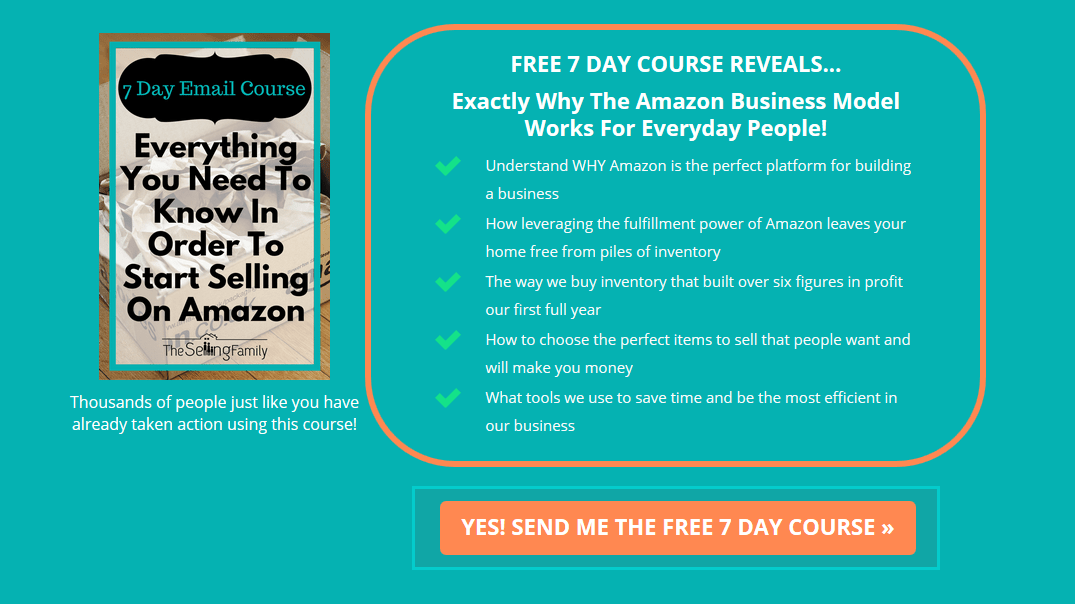 Amazon FBA Mini Course