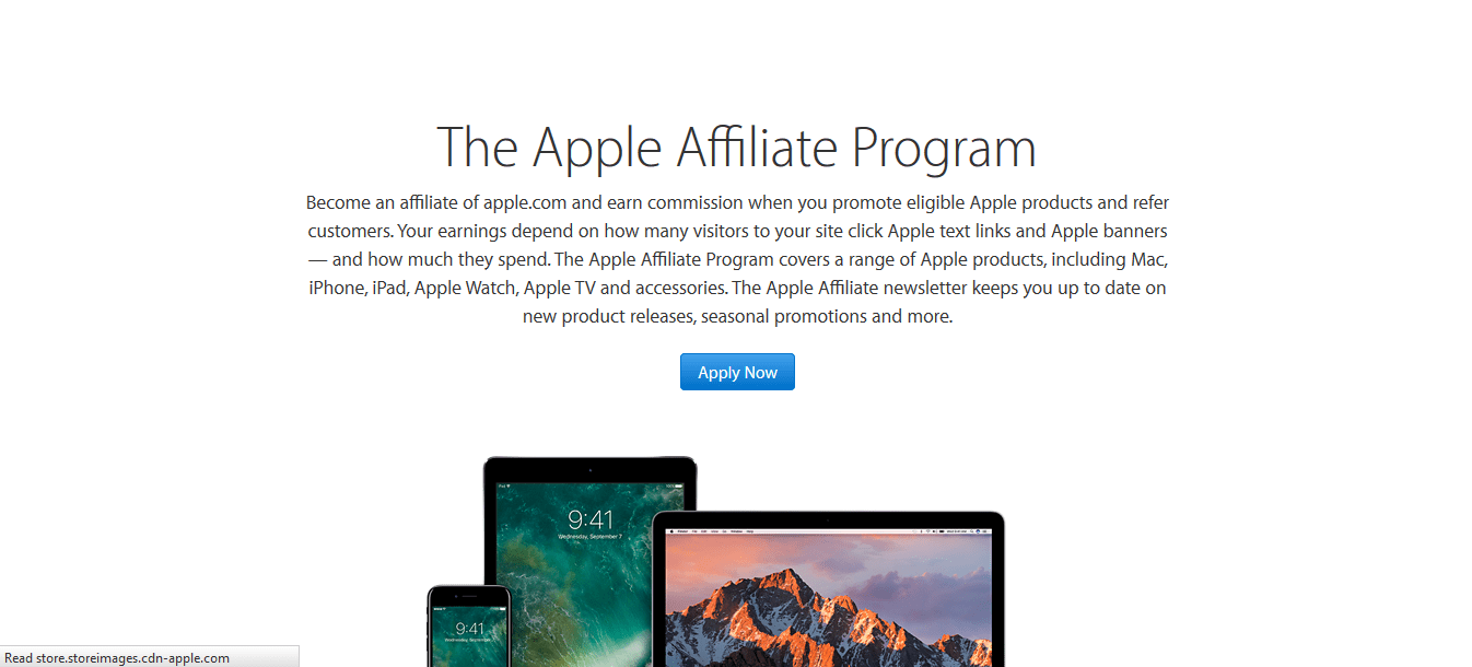 Apple Affiliate Program