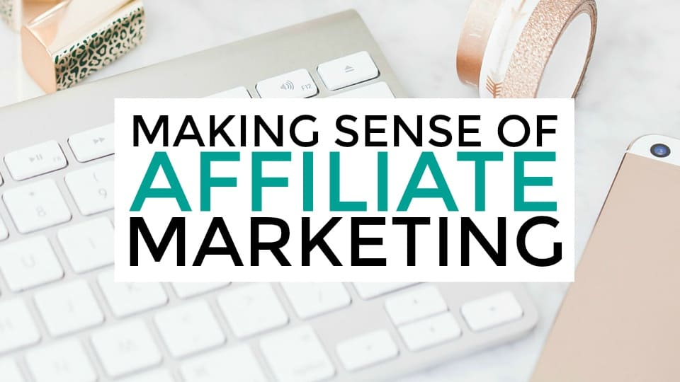 online affiliate marketer