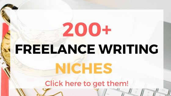 200 freelance writing niches - freelance writing jobs for beginners