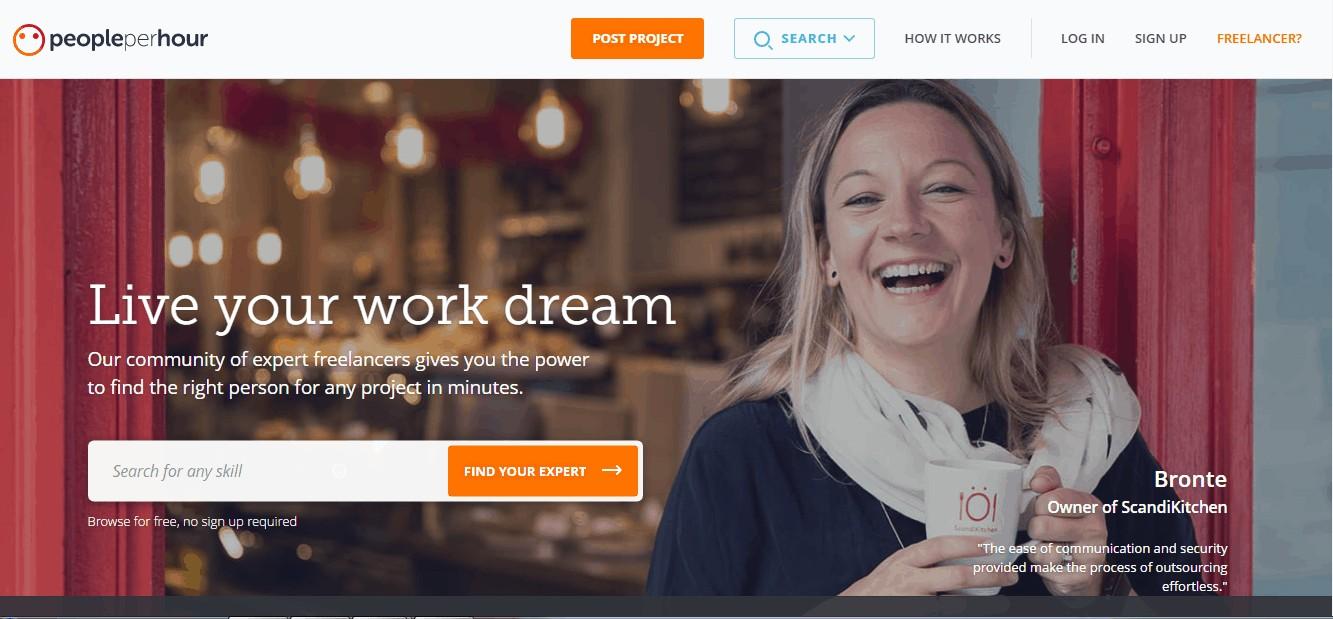 virtual freelancer at peopleperhour