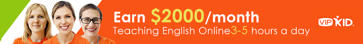 earn 2000 dollars at VIPKid