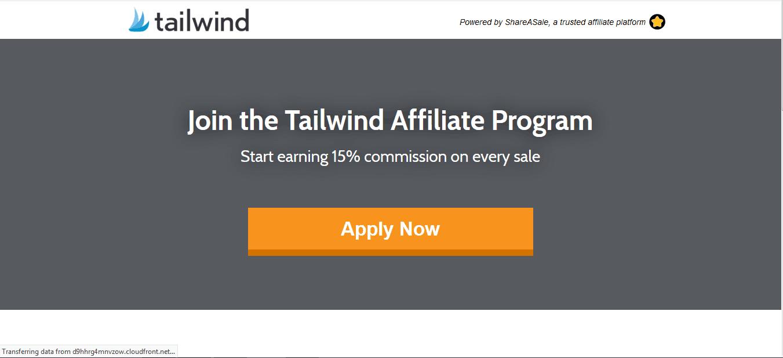 tailwind affiliate program
