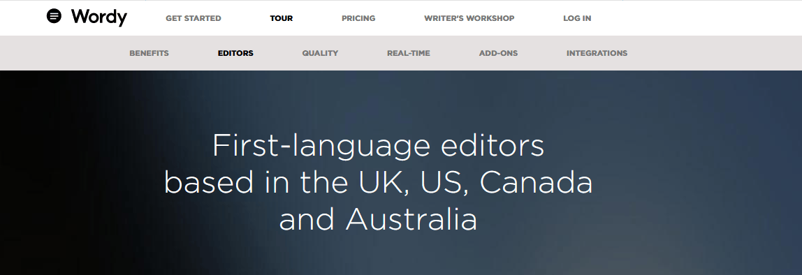 Transcript proofreading services
