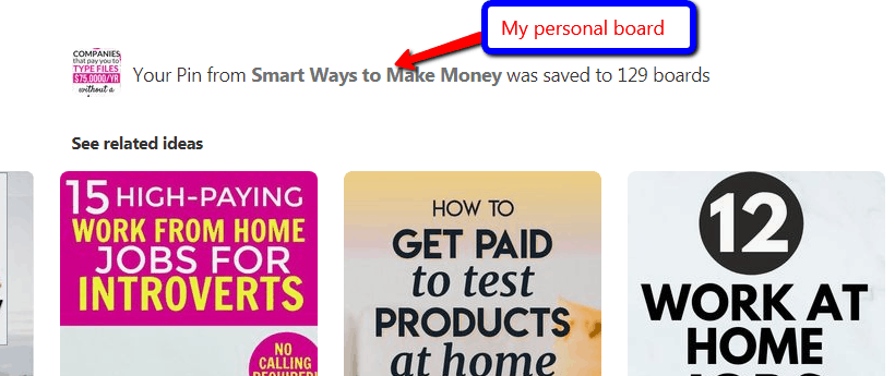 smart_ways_to_make_money personal pinterest board