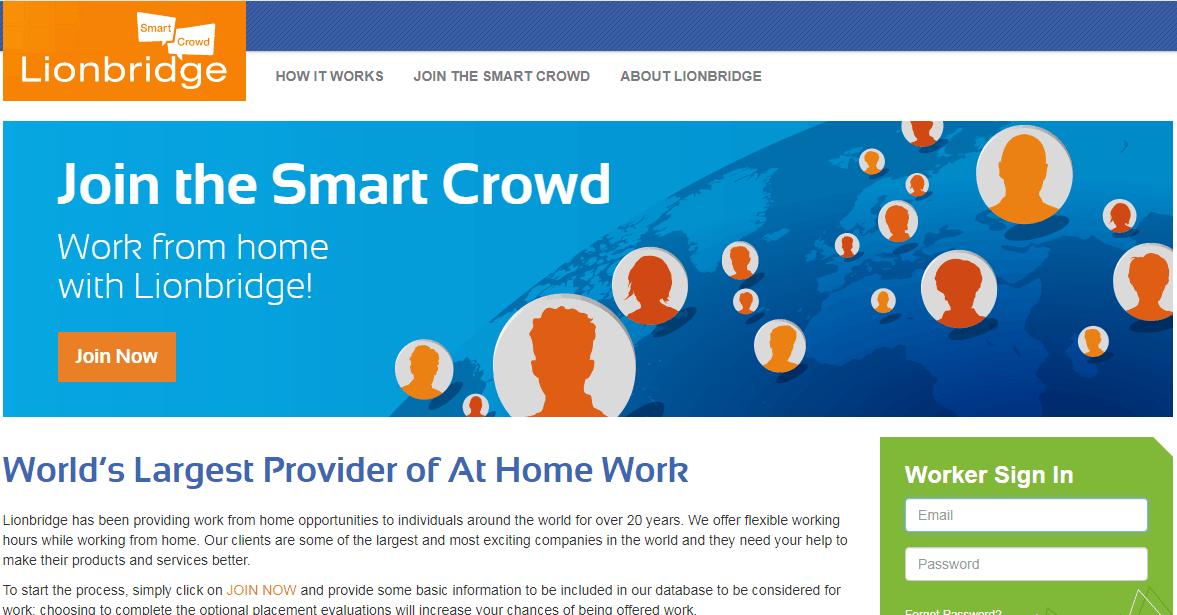 The_Smart_Crowd_Lionbride_online_data_entry