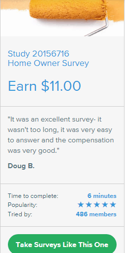 home owner survey