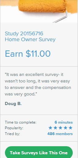 home owner survey