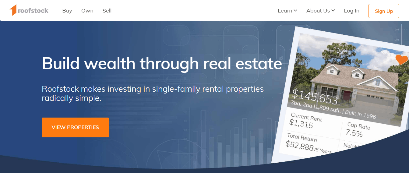 generate passive income with rental properties at roofstock