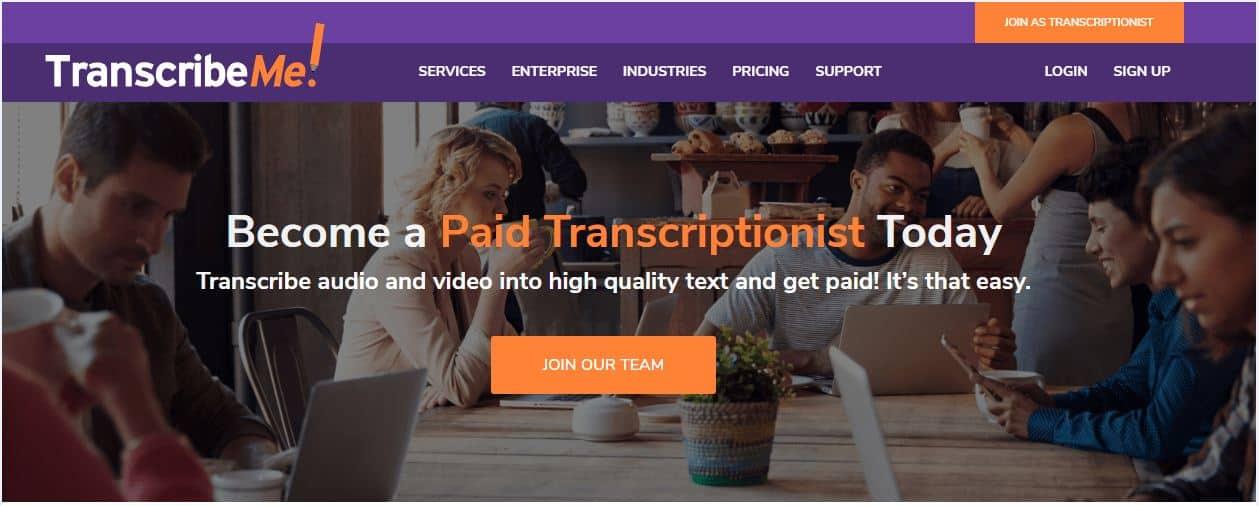 generation transcription jobs for beginners at transcribeme