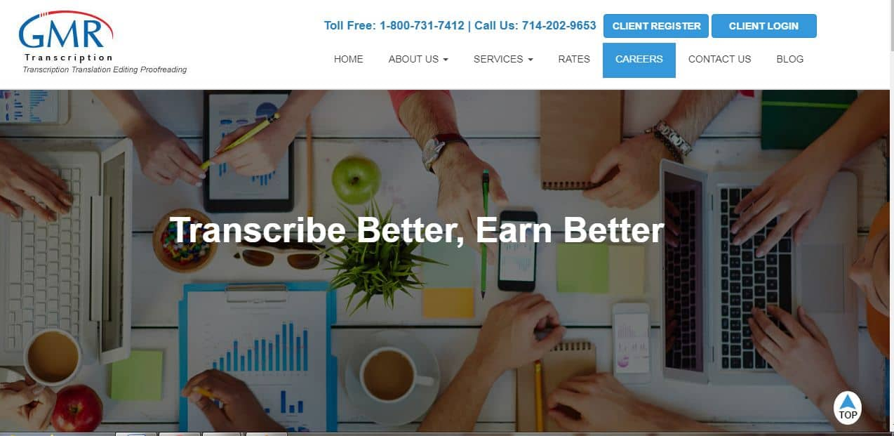 make money from home at grm transcription