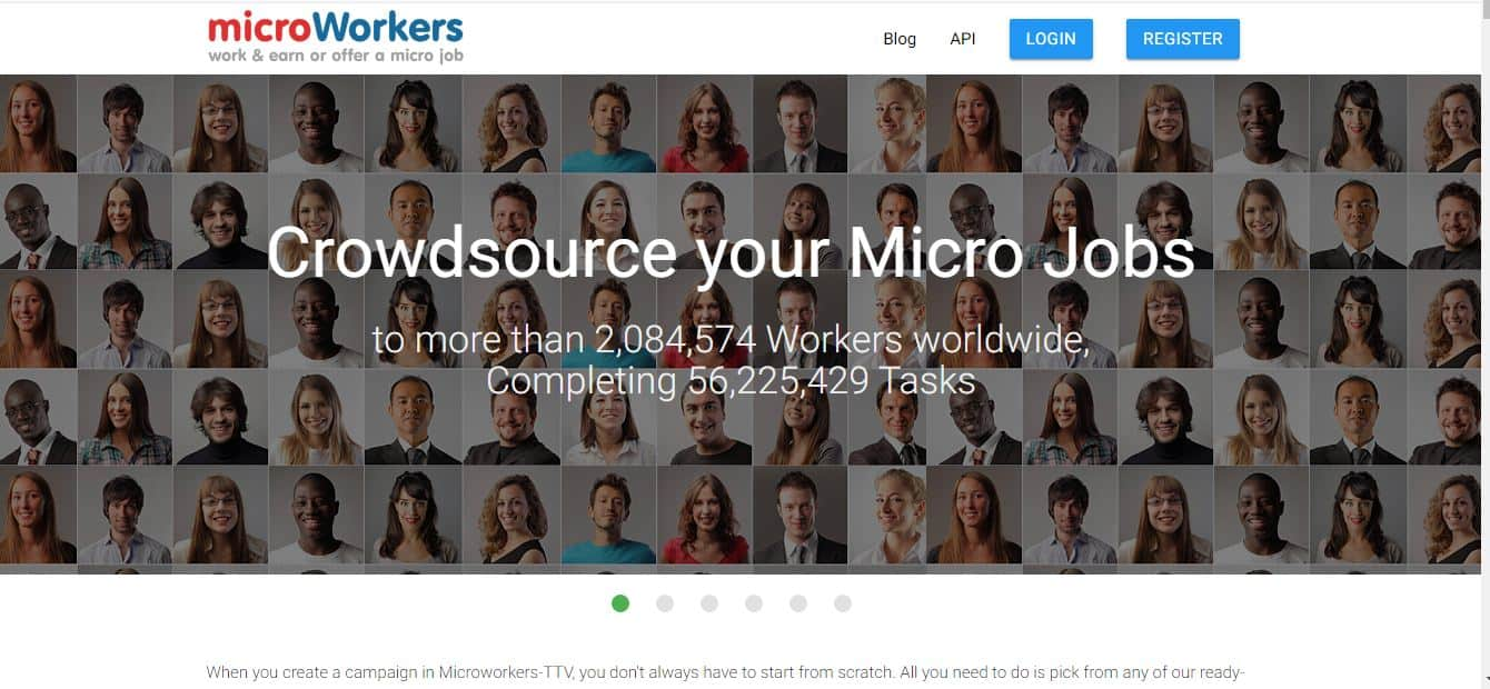 microworkers entry level data entry jobs