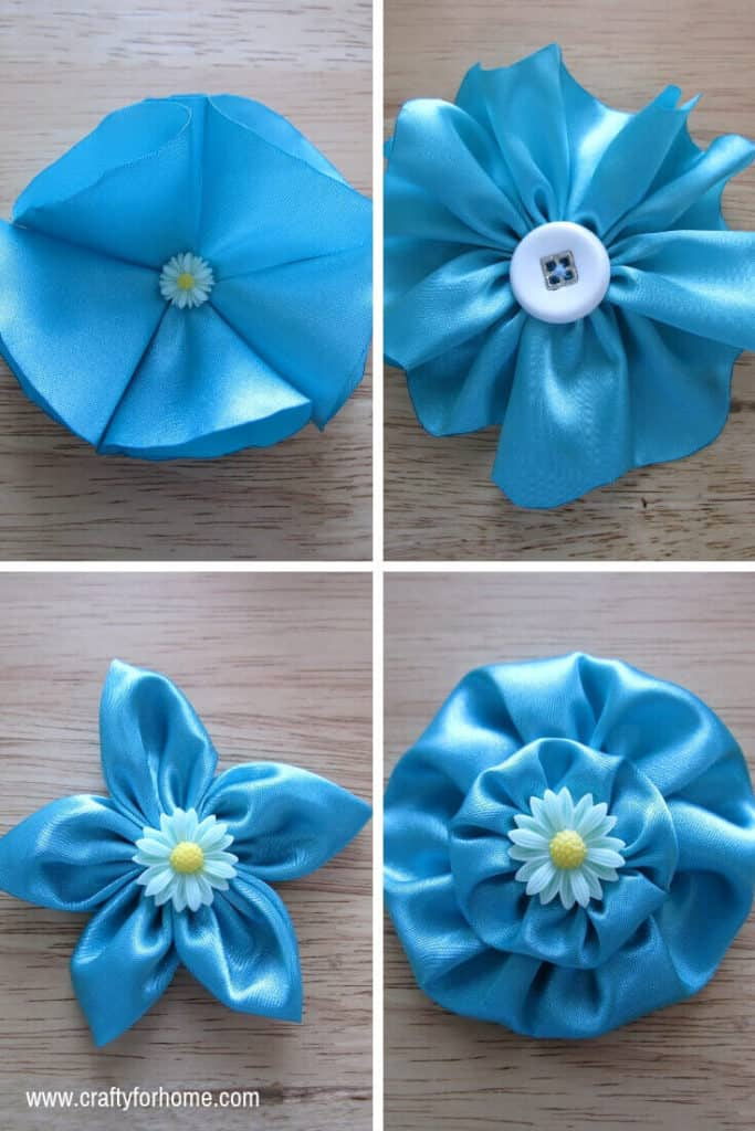 decorative fabric flowers