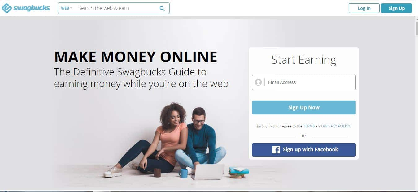 make money online on Swagbucks