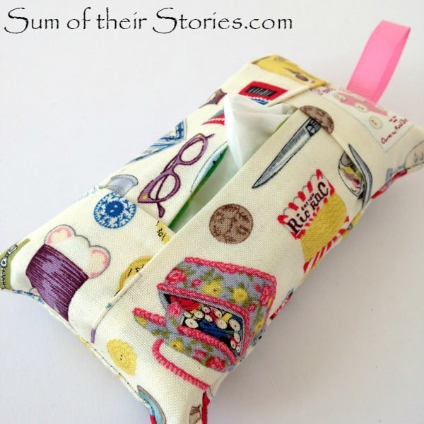 sewing+fabric for pocket tissue holders