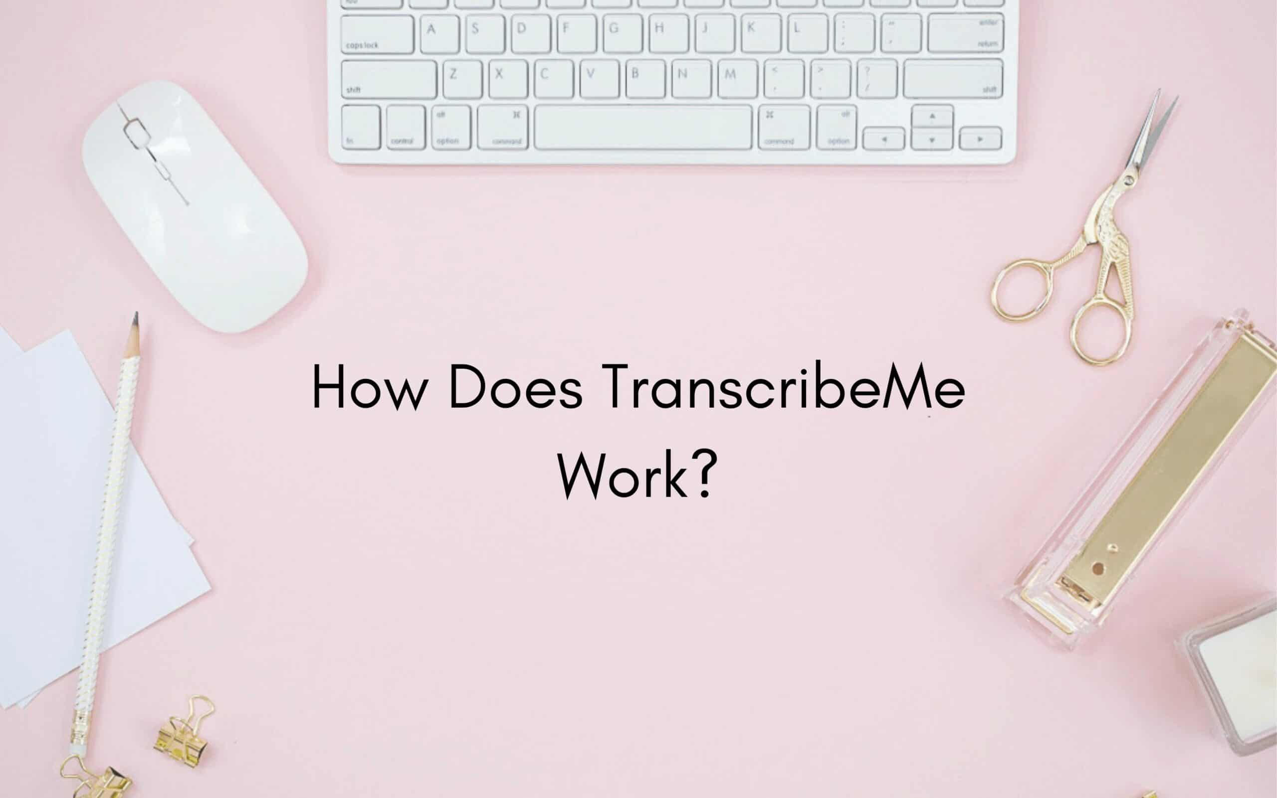 How Does TranscribeMe Work