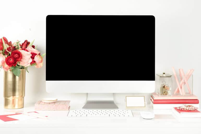 computer screen - work at home jobs