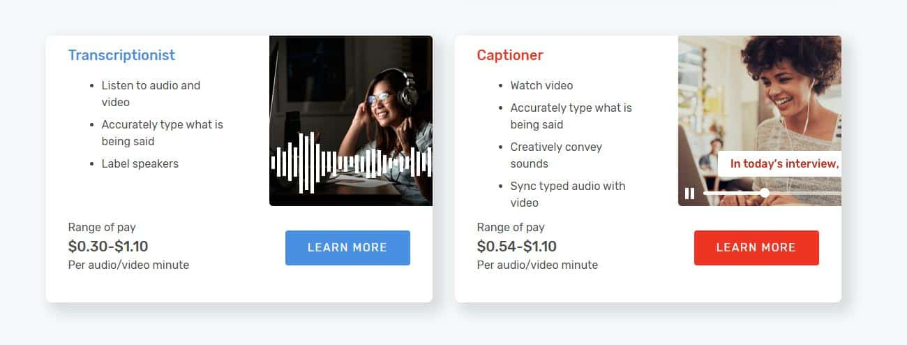 get paid to create video captions at rev