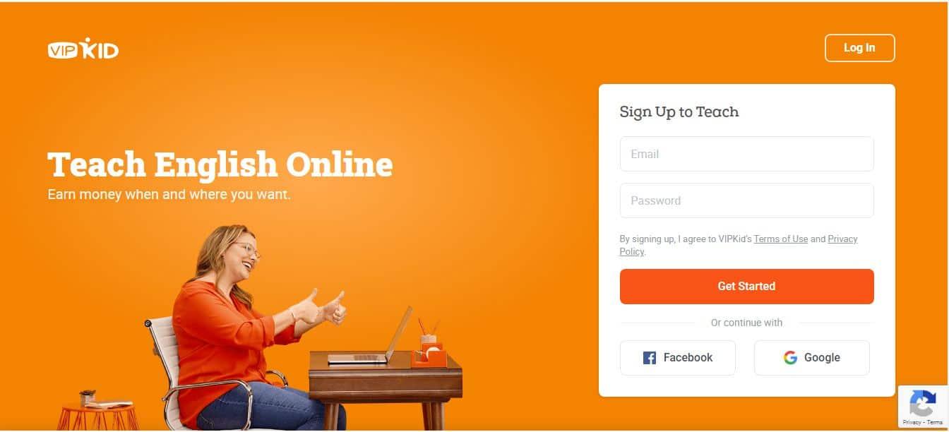 teach english online at VIPKid