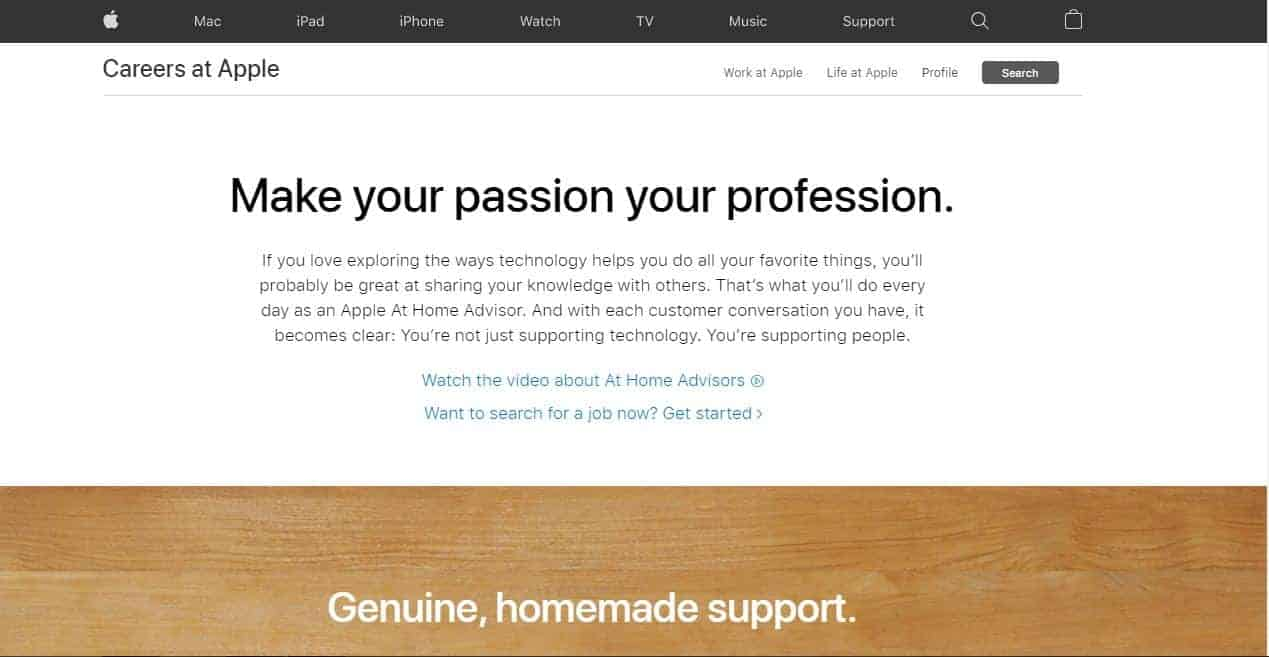 At Home Advisor for Apple