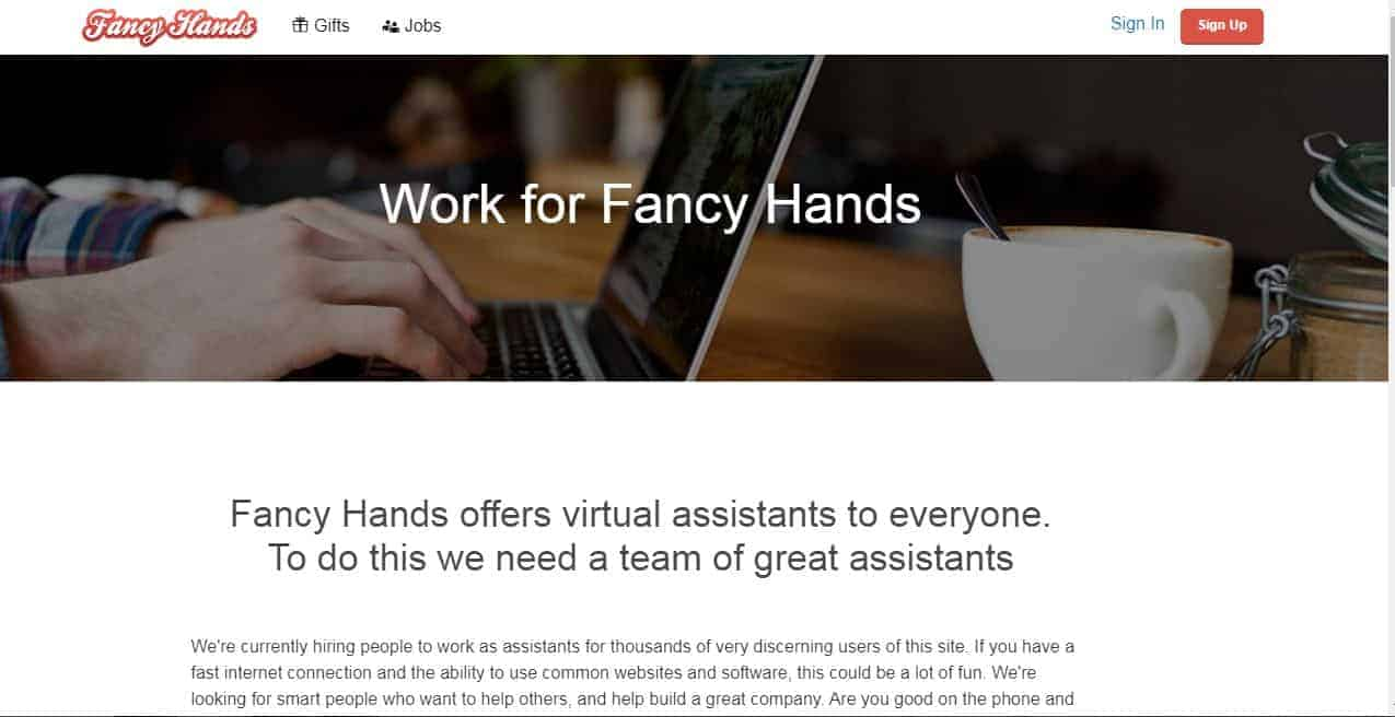 Virtual Assistant for Fancy Hands